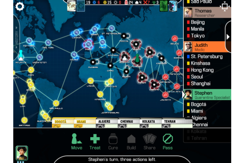 'Pandemic' Board Game Coming To The iPad Courtesy of Z-Man ...