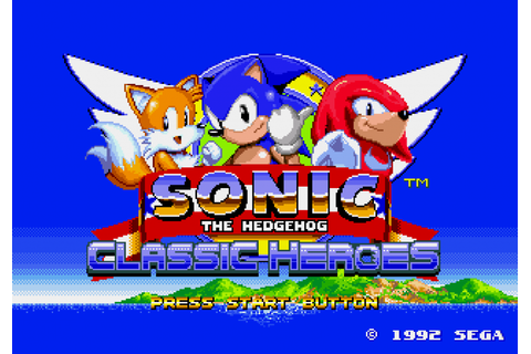 Games you can play on your Vita: Sonic Classic Heroes ...