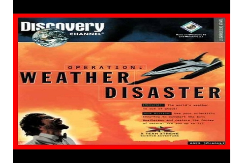 Team Xtreme - Operation Weather Disaster 1995 PC - YouTube