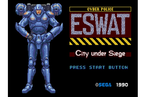 ESWAT - City Under Siege (USA) ROM