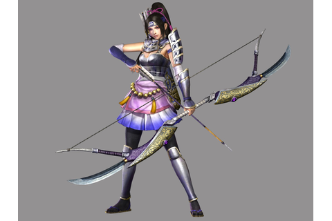 Samurai Warriors 3 Character Art – Nintendo Okie