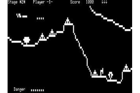 Penetrator computer game on the TRS-80 Model 1 - YouTube