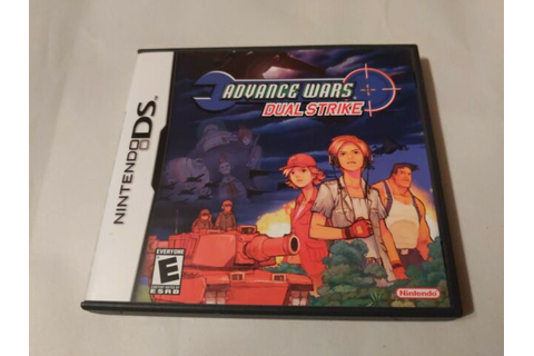 Advance Wars Dual Strike - Nintendo DS Original Game Cart ...