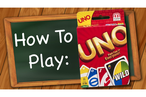How to play Uno - YouTube