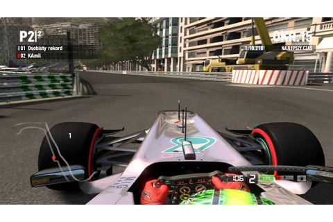 F1 2012 Game Monaco Onboard Michael Schumacher - YouTube
