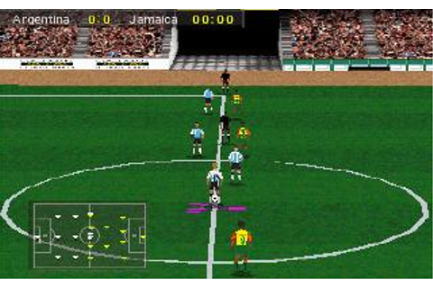 Olympic Soccer Download (1996 Sports Game)