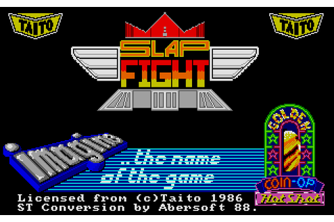 Slap Fight (1988) by Abersoft Atari ST game