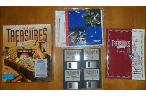 PC Game. The Lost Treasures of Infocom II. Big Box 3.5 ...