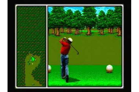 Arnold Palmer Tournament Golf - Sega Genesis Gameplay ...