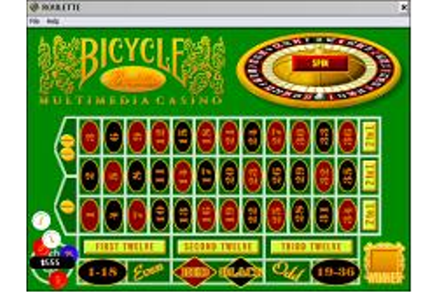 Bicycle Casino Download (1995 Strategy Game)