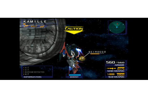 Mobile Suit Gundam: Gundam vs. Zeta Gundam (USA) PS2 ISO ...