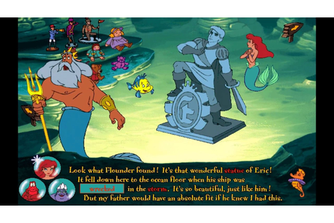 The Little Mermaid: Animated Storybook (Ariel's Story ...