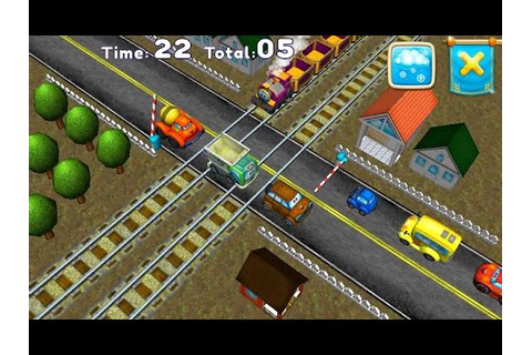 "Railroad signals, Crossing ""Racing Games"" Android Gameplay ..."