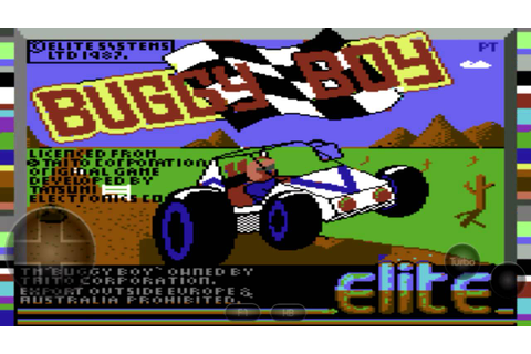 C64.Emu-Buggy Boy - YouTube