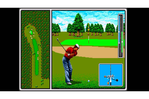Arnold Palmer Tournament Golf ... (Sega Genesis) - YouTube