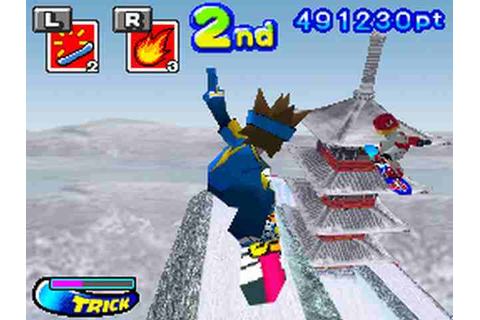 All SBK: Snowboard Kids DS Screenshots for