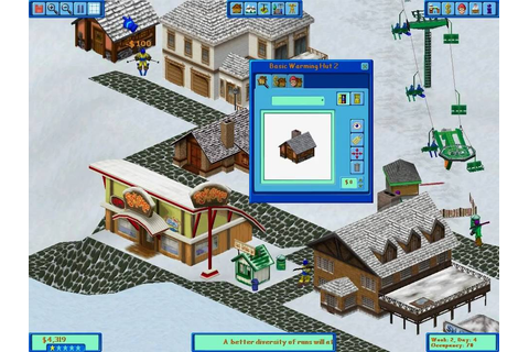 Ski Resort Tycoon - YouTube