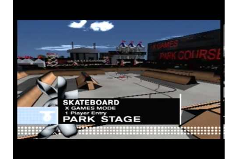 Let's Play ESPN X Games Skateboarding: The X Games - YouTube