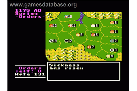 Genghis Khan - Nintendo NES - Games Database