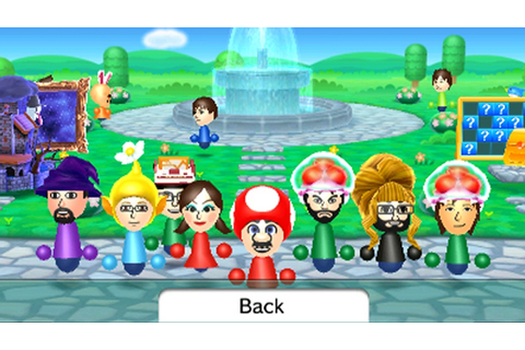 3DS Update Adds Save Back-ups, New Mii Plaza Games