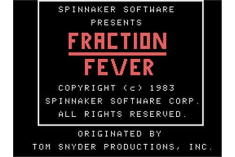 Fraction Fever Details - LaunchBox Games Database