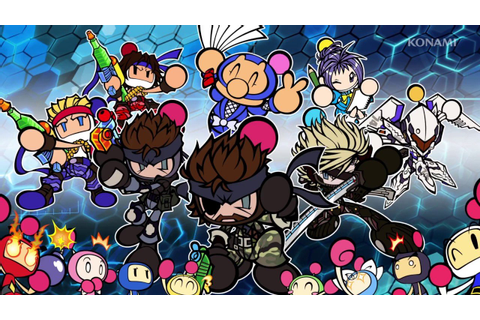 Massive Super Bomberman R update brings Metal Gear, Contra ...