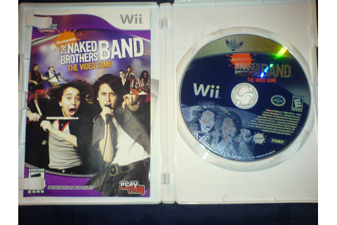 The Naked Brothers Band The Video Game De Wii - $ 100.00 ...