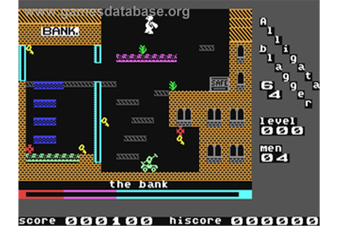 Blagger - Commodore 64 - Games Database