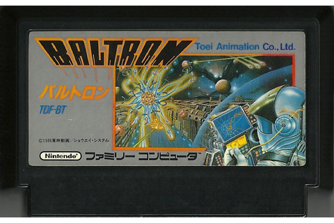 Baltron – Famicom | Retro Video Gaming