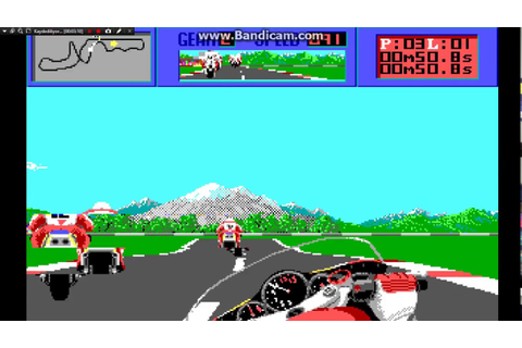 The Cycles 90s Dos game - international grand prix racing ...