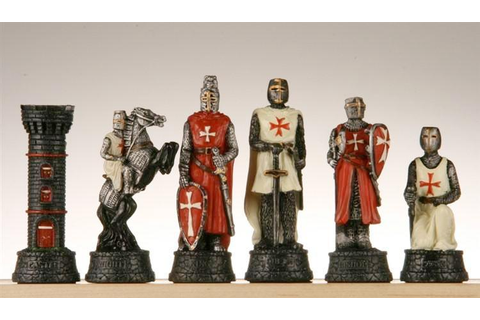 Crusades Chessmen – Chess House