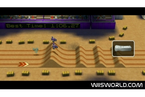 Excitebike: World Rally on WiiWare