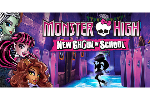 New Ghoul in School - Monster High Video Game
