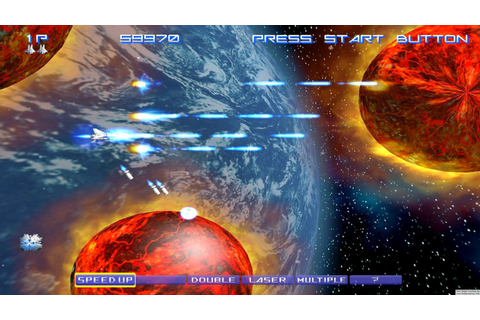 Review: Gradius V (Sony PlayStation 3) - Digitally Downloaded