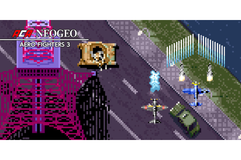 ACA NEOGEO AERO FIGHTERS 3 | Nintendo Switch download ...