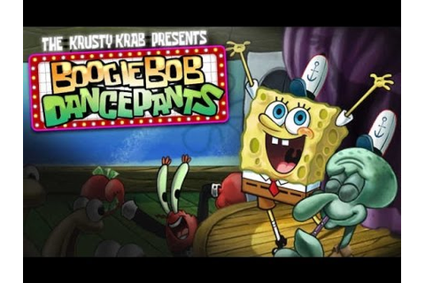 Spongebob Squarepants Boogiebob Dancepants Adventure ...