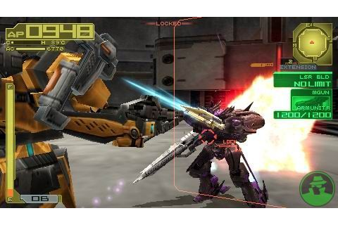 Armored Core 3 Portable ISO PPSSPP - isoroms.com