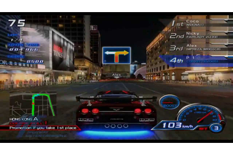 R-Tuned Ultimate Street Racing - Battle Mode Gameplay ...