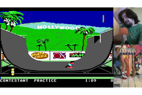 Old School: California Games (PC) - YouTube