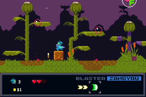 Kero Blaster Review – Brash Games