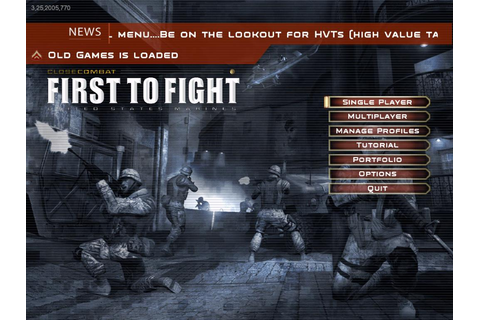 Close Combat: First to Fight Download (2005 Arcade action ...