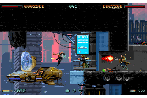 PAX East 2017: Huntdown, a Retro-inspired 2D Cyberpunk ...