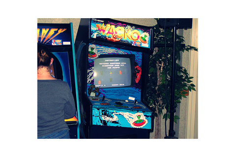 Wacko: The sloped Arcade cabinet! | Arcade & Video Games ...