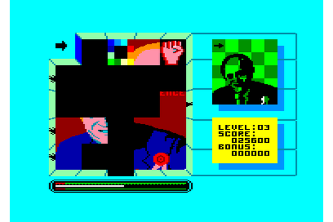 Split personalities by Domark on Amstrad CPC (1986)