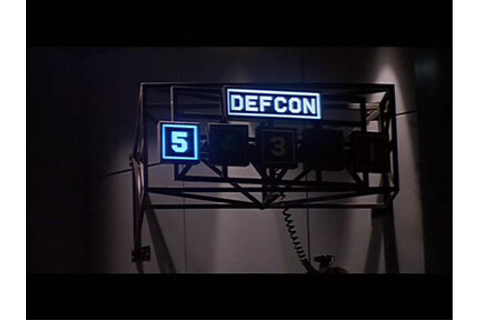 War Games: DEFCON 5 | Fotogramma dell'originale display ...