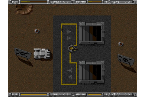Alien Breed: Tower Assault shooter for DOS (1994 ...