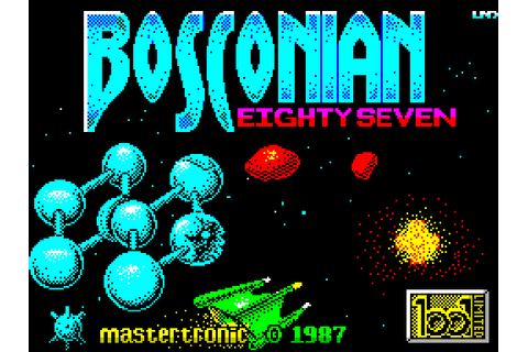 Bosconian 87 (1987) ZX Spectrum game
