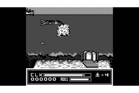 SEAQUEST DSV GAMEPLAY for the Game Boy - YouTube