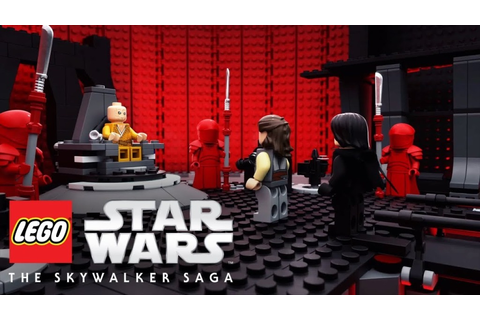 LEGO Star Wars: The Skywalker Saga developer: first build ...