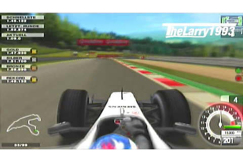 [PS2] F1 2005 - K.Räikkonen in Spa 1.42.604 - YouTube